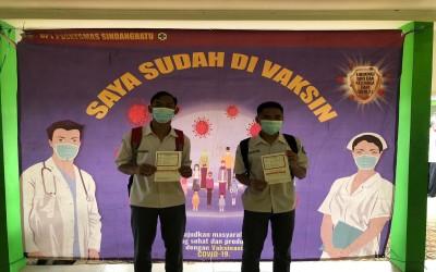 Kegiatan Vaksinasi Siswa SMA Negeri 23 Garut