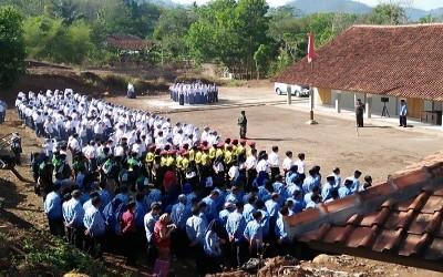 Peringatan Sumpah Pemuda Se-Kecamatan Pakenjeng Kab Garut di SMA Negeri 23 Garut
